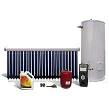 Calentador de agua solar forzado, para balcones o terrazas, depósito de 200 L, para 4 personas …