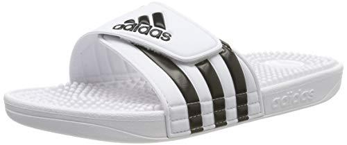 Adidas Adissage Ciabatte Unisex - Adulto, Bianco (Ftwr White/Core Black/Ftwr White Ftwr White/Core...