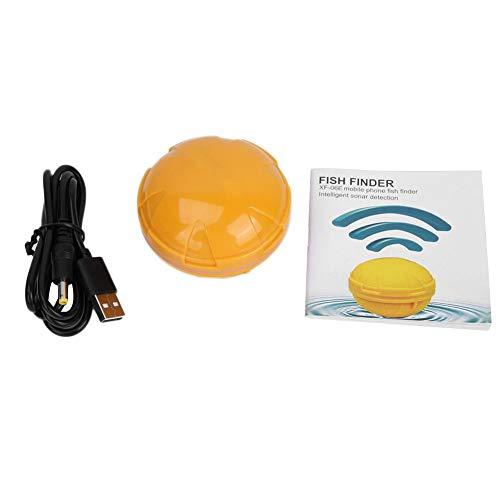 Fish Finder, Sensore Portatile per Ecoscandaglio da Pesca Ecoscandaglio Wireless da Pesca Accessori per Attrezzi da Pesca