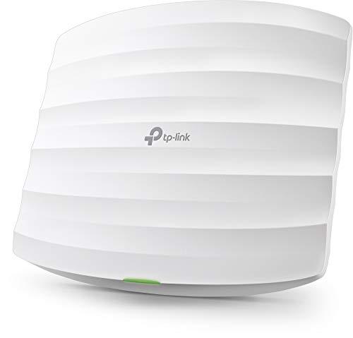 TP-Link EAP115 N300 WLAN Access Point (300Mbit/s 2,4GHz, lizenzfreie Software, passend für Wand- und Deckenmontage, unterstützt 802.3af PoE) weiß