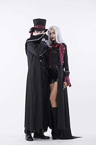 WSCOLL-2018-Halloween-Cosplay-Costume-Adult-Men-Women-Couple-Vampire-Costume-Masquerade-Stage-Costume-Devil-Costume-Zombie-Ghost-Dress