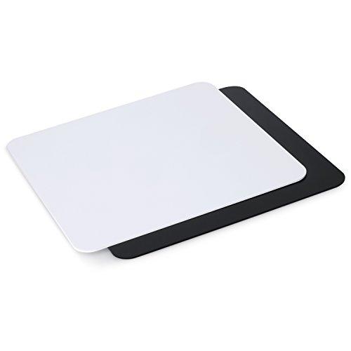 Neewer® 12 x 12/30 x 30 cm Acryl Reflective Display Bretter für Produkt Tisch Fotografie Aufnahme (schwarz und weiß)