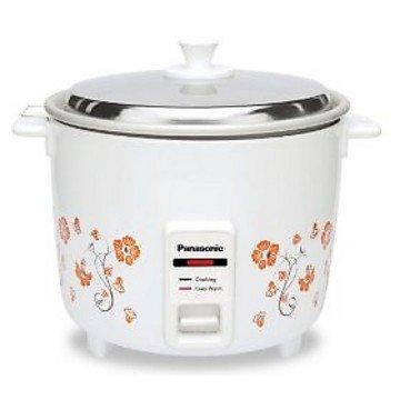 Panasonic SR-WA10H(E) 450-Watt Automatic Cooker Warmer - 2.7 Litre (After cooking)