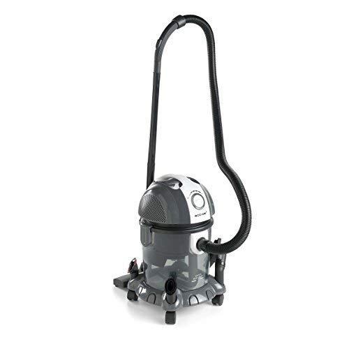 ECO-DE Aspirapolvere Aspiratore solidi-liquidi Wet & Dry 1800 W Filtro HEPA Lavabile e filtro ad...