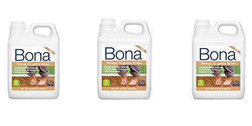 Bona 3 – Set WM700115025 Detergente per parquet per pavimenti oliati, tanica di ricarica 2,5...