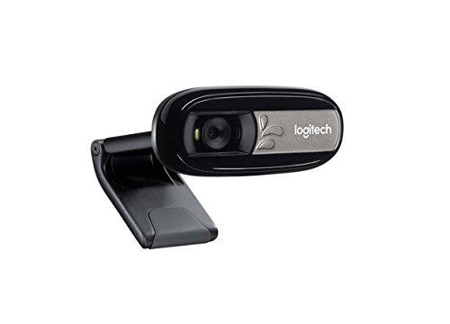 Logitech C170 Webcam, 5 MP. microfono, Nero/Antracite