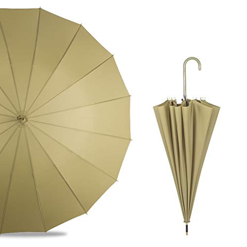 LZRZBH Ombrello da Donna A Manico Lungo Ombrello da Donna (Colore : B)