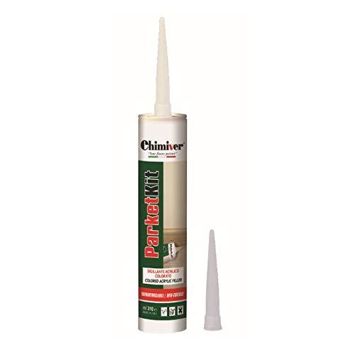 Chimiver - PARKETKIT | Sigillante acrilico per fughe tra pavimenti e zoccolini di Varie colorazioni...