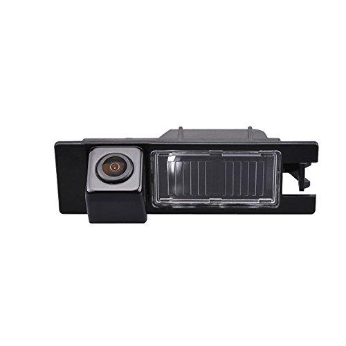kalakus Colore Telecamera di Retrovisione con Linee di Griglia Come Luce Targa, Sensore di Parcheggio Nero per Opel Astra J Vectra Antara Corsa Zafira