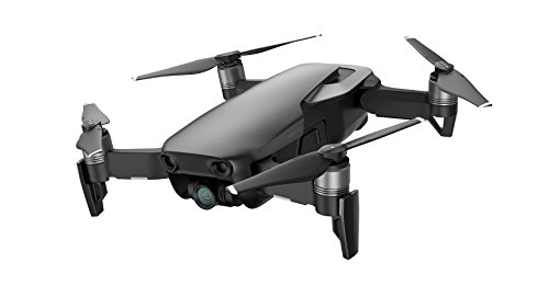 DJI Mavic Air Fly More Combo Drone con Video 4K Full-HD, 32 Megapixel, Raggio di trasmissione fino a 4 km, Nero