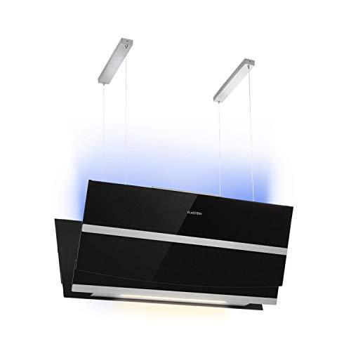 KLARSTEIN Prism - Cappa, Cappa ad Isola, 720m³/h, Classe Efficienza Energetica A, Funzione Booster,...