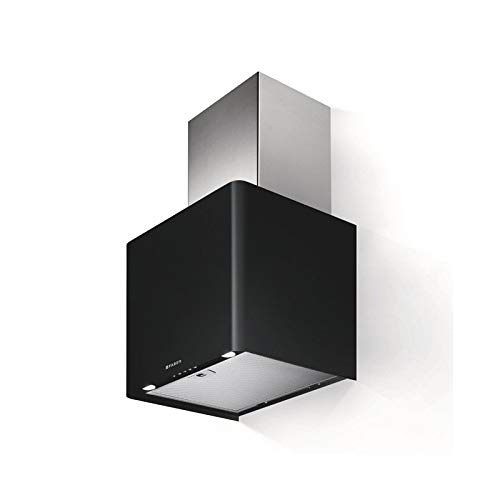 Faber - Cappa a parete LITHOS finitura nero opaco da 45 cm