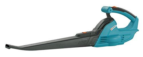 Soplador universal AkkuJet 18-Li de GARDENA: soplador de hojas con batería, potencia del motor 18 V, velocidad de soplado 190 km/h, peso ligero, se entrega sin batería ni cargador (9335-55)