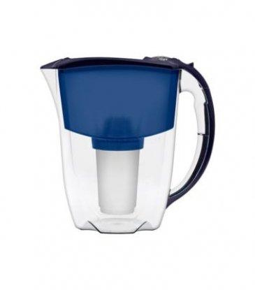 Aquaphor Prestige 2.8L water filter jug with cartridges bundle (blue) (2 months of Aquaphor Classic B100-5) (1 cartridge)