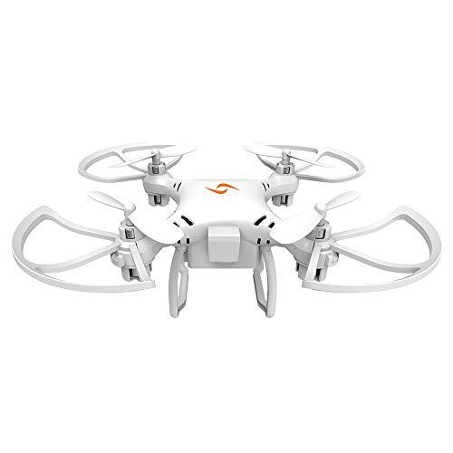 Edhua Bambini Mini Drone X107,Telecomando Drone modalità Senza Testa Telecomando con Telecomando a...