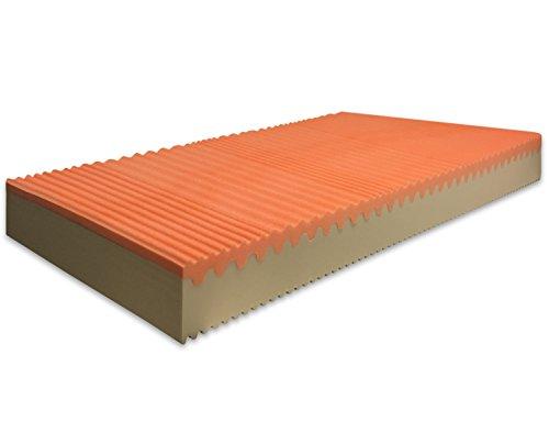 Marcapiuma - Materasso Singolo Memory Bio 80x190 Alto 20 cm - Sunrise Plus - H2 Medio/Rigido...