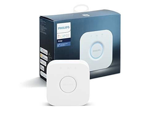 31jNwORUVfL Bon Philips Hue !  Philips Hue White & Color Ambiance Play X2 Blanc 6,6 W + Pont de connexion - Fonctionne avec Alexa