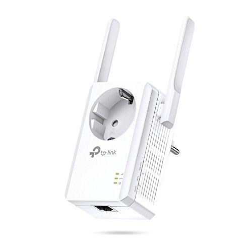 TP-Link Ripetitore WiFi Wireless TL-WA860RE con presa integrata, Wifi Extender e Access Point,...