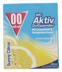 00 WC Duft-Spender Zitronenfrische Nachfüllpackung 2 pcs
