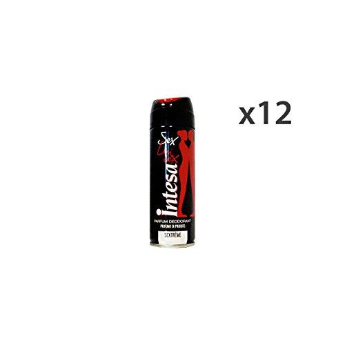 Entente Set 12Déodorant Spray mixte Sextreme 125ml. Soin du corps 22