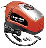 BLACK+DECKER ASI300-QS - Compresor de aire, 160 PSI, 11 bar, Multicolor (Rojo/Negro)