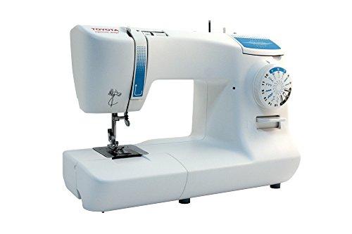 Toyota SPB15 - Máquina de coser, 65 W, 15 programas, color blanco