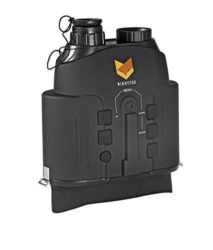 Nightfox 110R - Binocolo con visione notturna a infrarossi, raggio d'azione 150 m, funzione di...