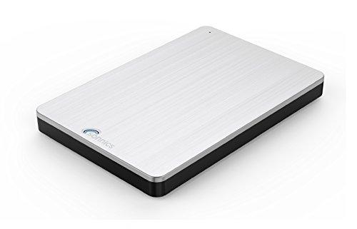 Sonnics 160GB argento hard disk esterno portatile USB 3.0 Super velocità di trasferimento per uso...