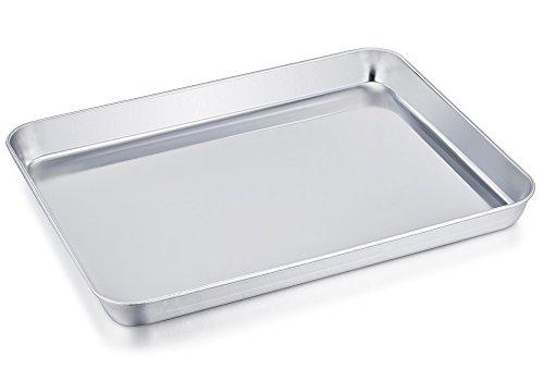 Tostapane in acciaio INOX Teamfar vaschetta stoviglie di ricambio professionale, Compact 20,3 x 26,7...