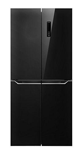 Frigorifero Multidoor 4 porte Black Mirror DF4-580BD Daya Home Appliances