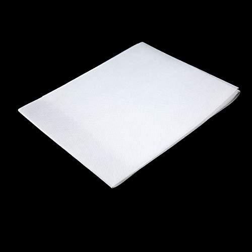 Portable Cortina Tessuto Non Tessuto Bianco Morbido 170 Pollici Schermo di proiezione per KTV Ba Sala Conferenze Home Theatre (Bianco)