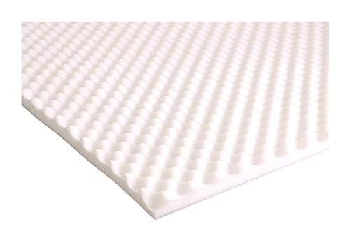 Supporto copri materasso in gommapiuma con struttura egg box. Supporto per sollievo dal dolore,...