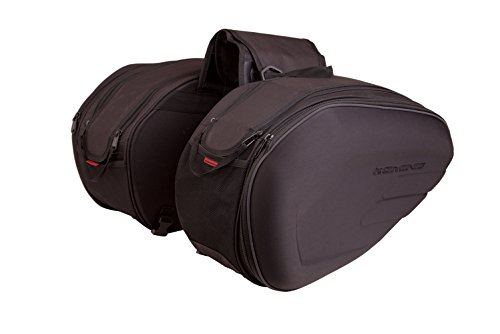 Auto Companion Motorrad-Packtasche Easy (1 Paar), halb starr, mit wasserdichten Überzügen