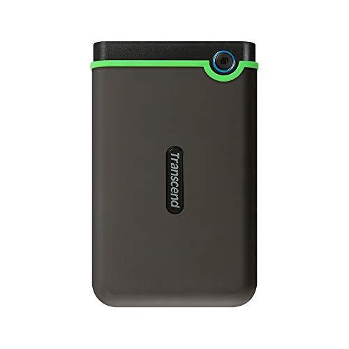Transcend TS1TSJ25M3S StoreJet25M3S Hard Drive Rugged Esterno 2.5', micro USB a USB Type A, Grigio...