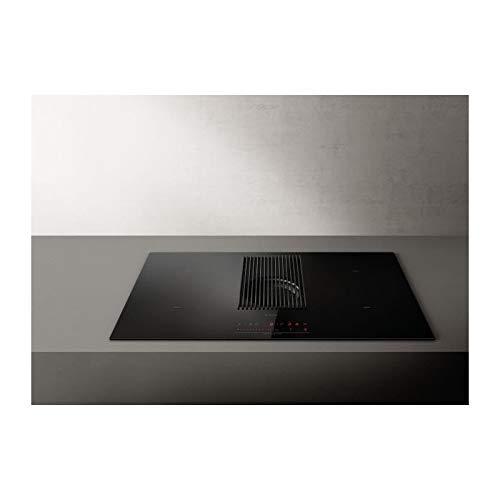 Elica | NIKOLATESLA PRIME BL/F/83 Piano Cottura Induzione con Cappa Integrata Filtrante 4 Fuochi da...