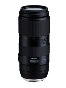 Tamron T80201 - Óptica digital con distancia focal variable para Canon (100-400 F/4.5-6.3, estabilizador de imagen VC de 4 pasos, distancia mínima de enfoque de 1.5 m) - kit con filtro 67 mm, negro