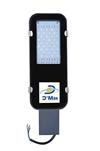 """""""Happy Selling"""" 85V-265V 30 Watt Waterproof Grey Body LED Street Light for Outdoor Purposes (White)"""