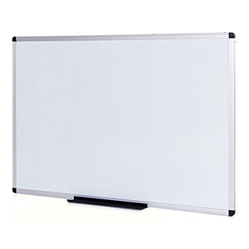 viz-pro lavagna magnetica/a secco, 120 x 90 cm, telaio in alluminio argentato