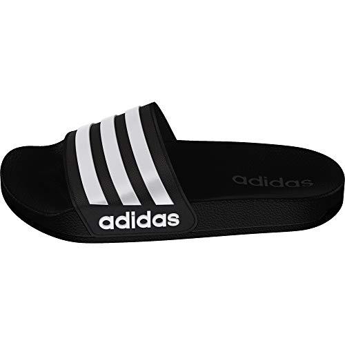 adidas Adilette Shower K, Scarpe da Spiaggia e Piscina Unisex-Bambini, Nero Ftwbla/Negbás 000, 33...