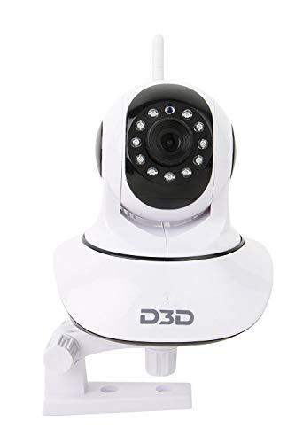D3D D8810 HD WiFi CCTV Indoor (White)
