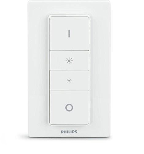 Philips Hue Lighting Telecomando Dimmer Switch per Sistema, Bianco