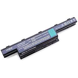 vhbw Li-Ion batería 8800mAh (11,1V) Negra Apta para Notebook Packard Bell Easynote-Serie. Sustituye batería: LC.BTP00.123, AK.006BT.080, 934T2078F, etc.