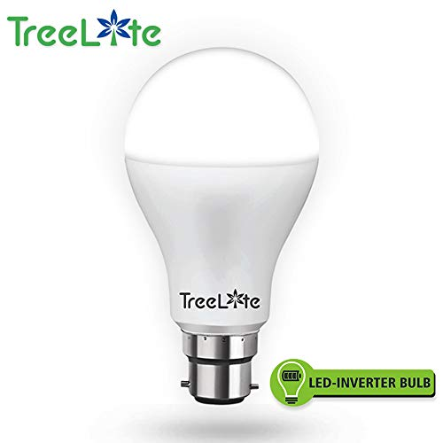 TreeLite 9W Smart LED Inverter-Bulb/Emergency Rechargeable B-22