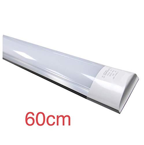 Led Atomant Pantalla 60 cm, 18 W, Color Blanco Frio 6500K. Luminaria Integrada Equivalente a 2 Tubos Fluorescentes. 1700 Lumenes Reales. Regleta LED