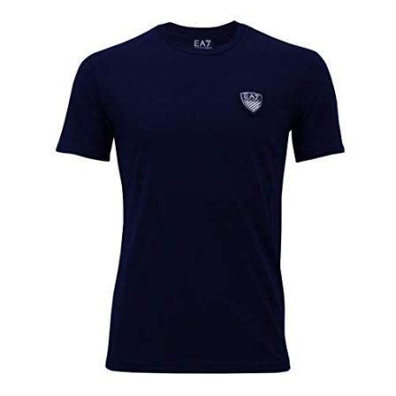 Emporio-Armani-Camiseta-EA7-T-Shirt-para-Hombre-3YPTL7-Cuello-Redondo-Manga-Corta