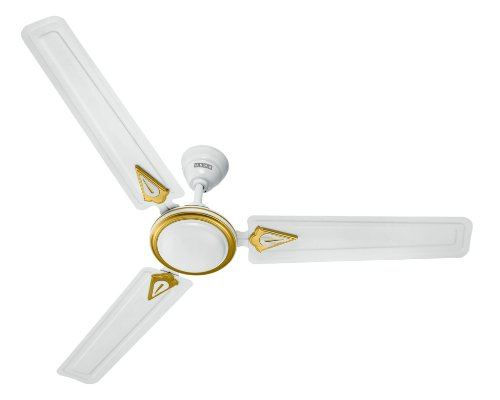Usha New Trump 1200mm Ceiling Fan without Regulator (White)