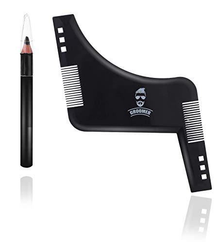 Set premium di strumenti per rasare e modellare la barba