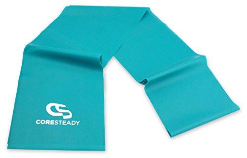 Coresteady Fasce di Resistenza Terapeutiche | Bande fitness di alta qualità per Pilates, Yoga,...