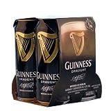 Guinness Irisches Bier, Draught - Stout (4 x 0,44l) inkl. 1,00€ DPG Pfand EINWEG