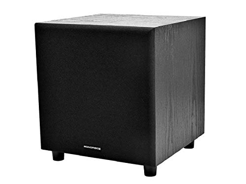 Monoprice 108248 Powered Subwoofer (Black)